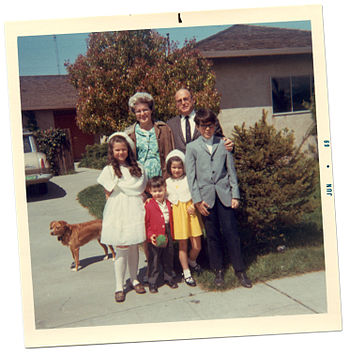 A family photo from 1969.
